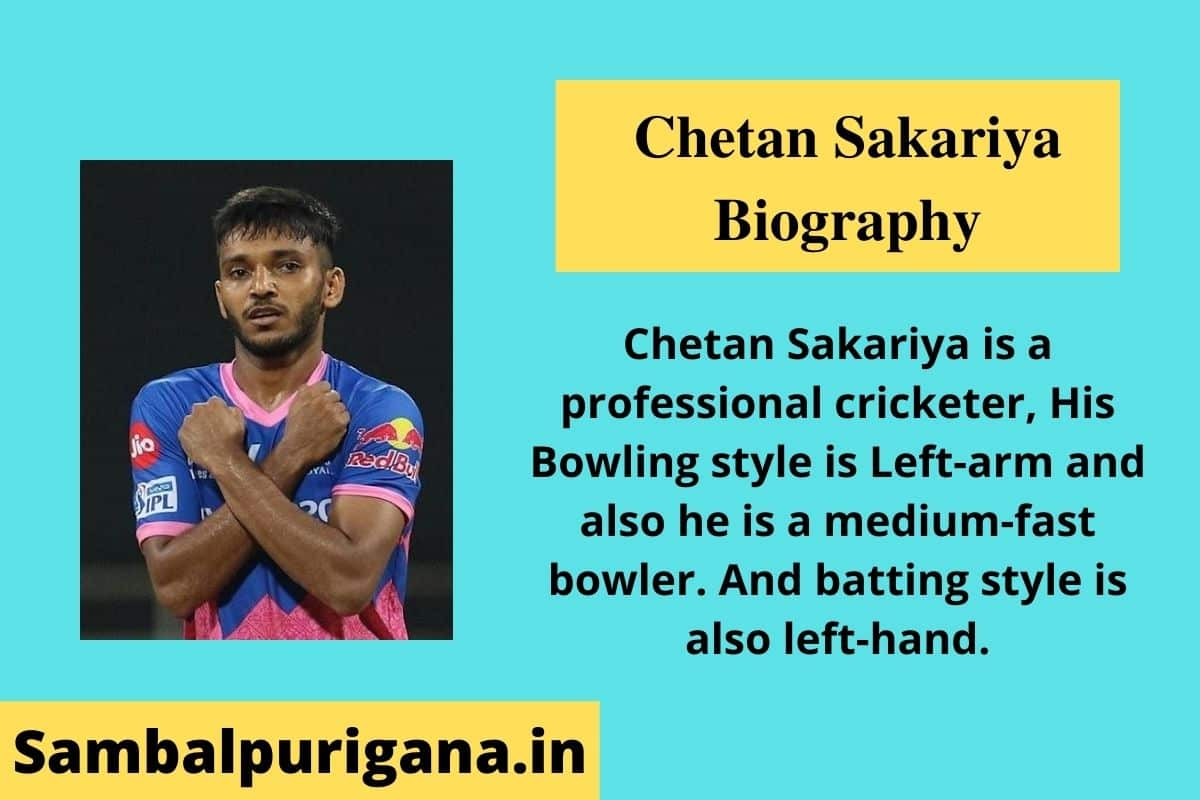 Chetan Sakariya Wiki, Bio, Biography, Height, Weight, Age, Girl Friend Name, Net Worth, Bio & More